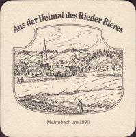 Pivní tácek brauerei-ried-28-zadek-small
