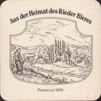 Pivní tácek brauerei-ried-31-zadek-small