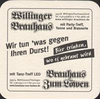 Beer coaster brauhaus-zum-lowen-leo-1-zadek