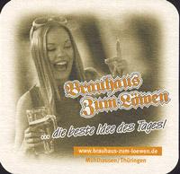 Beer coaster brauhaus-zum-lowen-leo-3