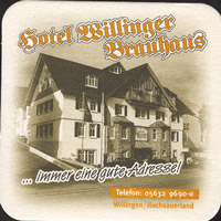 Beer coaster brauhaus-zum-lowen-leo-4-zadek