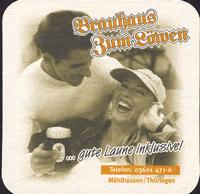 Beer coaster brauhaus-zum-lowen-leo-4