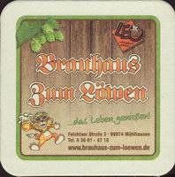 Beer coaster brauhaus-zum-lowen-leo-6