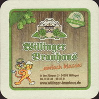 Beer coaster brauhaus-zum-lowen-leo-6-zadek
