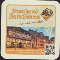 Beer coaster brauhaus-zum-lowen-leo-8-small