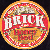 Beer coaster brick-12