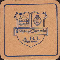 Beer coaster brie-abbaye-st-arnould-1-small