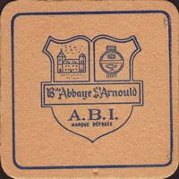 Pivní tácek brie-abbaye-st-arnould-1-small