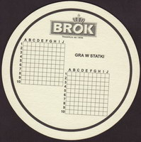 Beer coaster brok-strzelec-15-zadek-small
