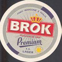 Beer coaster brok-strzelec-2-oboje