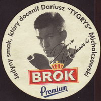Beer coaster brok-strzelec-23-zadek-small