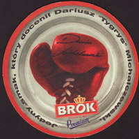 Beer coaster brok-strzelec-24-zadek-small