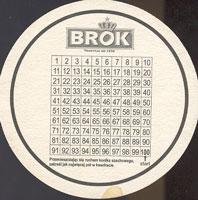 Beer coaster brok-strzelec-3-zadek