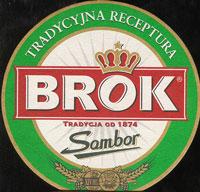 Beer coaster brok-strzelec-4