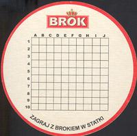 Beer coaster brok-strzelec-5-zadek