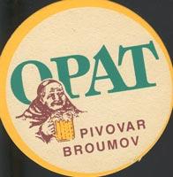 Pivní tácek broumov-1