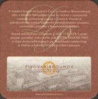 Beer coaster broumov-14-zadek-small