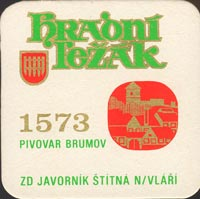 Beer coaster brumov-1