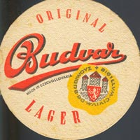 Beer coaster budvar-11