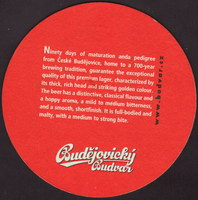 Beer coaster budvar-265-zadek-small