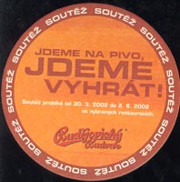 Beer coaster budvar-32