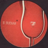 Beer coaster budvar-366-small