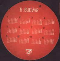 Beer coaster budvar-366-zadek-small