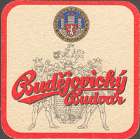Beer coaster budvar-72