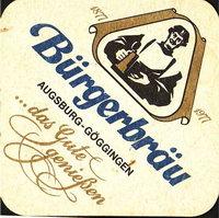Beer coaster burgerbrau-goggingen-2-oboje-small