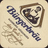 Beer coaster burgerbrau-goggingen-5-small