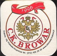 Beer coaster c-k-browar-1