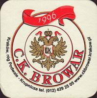 Beer coaster c-k-browar-2