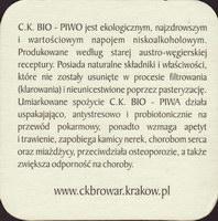 Beer coaster c-k-browar-2-zadek