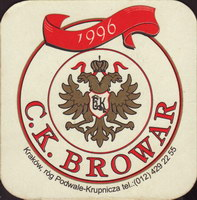 Beer coaster c-k-browar-3-oboje-small