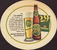 Beer coaster c-wittmann-3-zadek-small