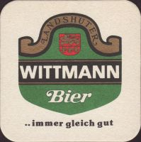 Beer coaster c-wittmann-8-small