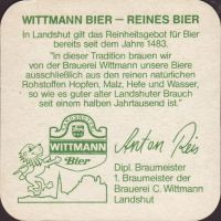 Beer coaster c-wittmann-8-zadek-small