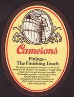 Pivní tácek camerons-13-zadek-small