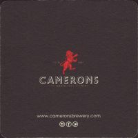 Pivní tácek camerons-18-zadek-small