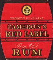 Pivní tácek camerons-6-zadek-small