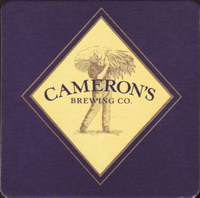Beer coaster camerons-brewing-company-1