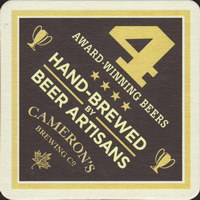 Beer coaster camerons-brewing-company-3-zadek