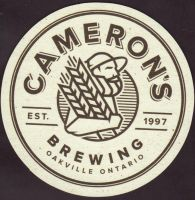 Beer coaster camerons-brewing-company-4-small