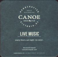 Beer coaster canoe-brewpub-3-small