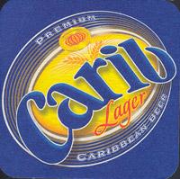 Pivní tácek carib-2-oboje