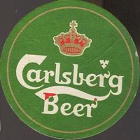 Pivní tácek carlsberg-124