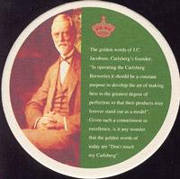 Pivní tácek carlsberg-132-zadek