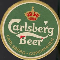 Pivní tácek carlsberg-2