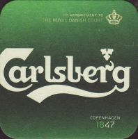 Beer coaster carlsberg-521