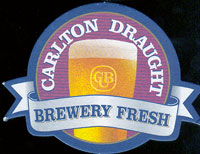 Beer coaster carlton-1
